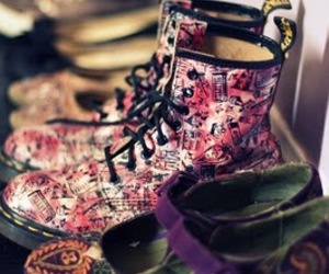 boots, pink, and pretty image