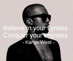 quote, fly, and kanye west image