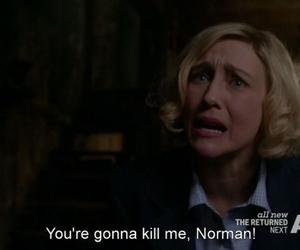 creepy, norman bates, and Psycho image