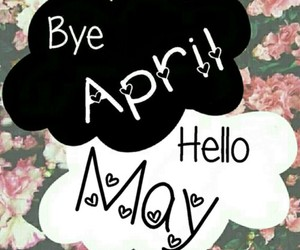 may, april, and hello image