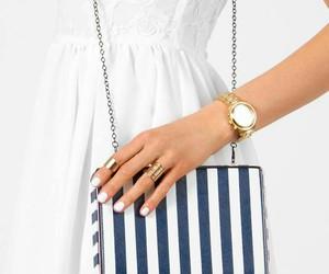 bag, summer, and dress image