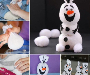 diy, olaf, and frozen image