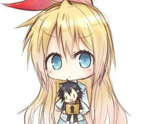 anime, nisekoi, and chibi image