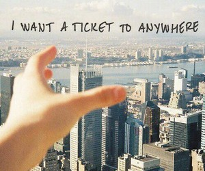 ticket, travel, and city image