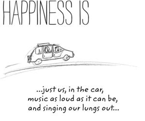 car, enjoy, and music image