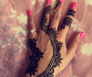 Dubai, henna, and hennatattoo image