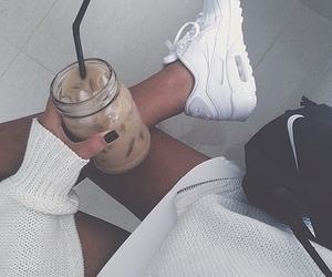 nike, white, and style image