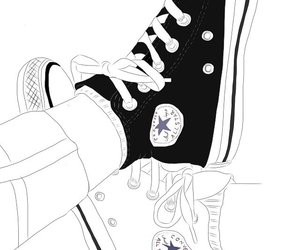 outline, converse, and draw image