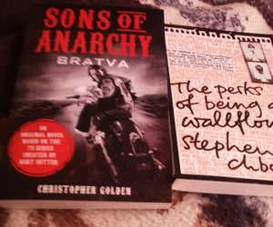 books, stephen chbosky, and sons of anarchy image