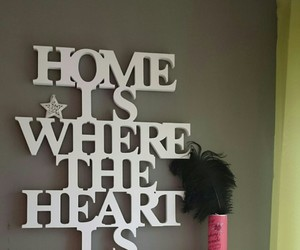 decoration, heart, and home image