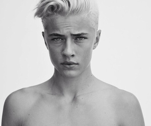 Hot, model, and lucky blue smith image