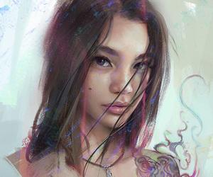 art, camila, and drawing image