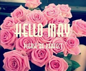 spring, month, and hello may image