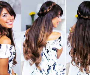 hairstyle, long hair, and luxy hair image