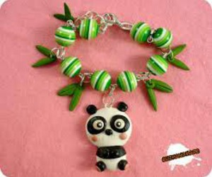 beads, fimo, and cute image