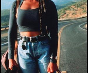 janet jackson, 90s, and fashion image