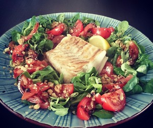 delicious, fish, and healthy image
