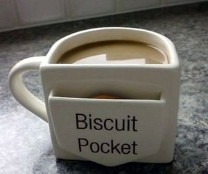 biscuits, coffee, and cup image