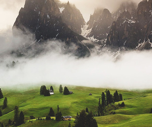 mountains, nature, and italy image