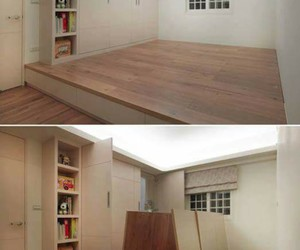 room, design, and storage image