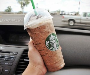 starbucks, drink, and yummy image