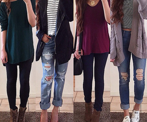 girls, nice, and outfits image