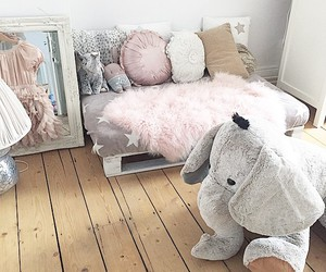 decor, pastel, and room image