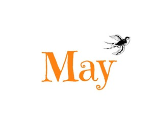 may, welcome may, and spring image
