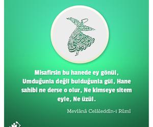 islam, muslim, and mevlana image