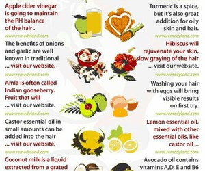 hair, HAIR LOSS, and home remedies image