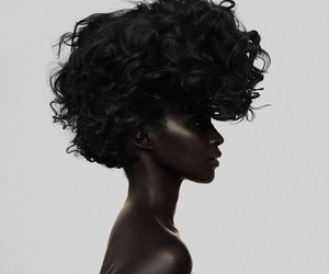 beauty, model, and hair image