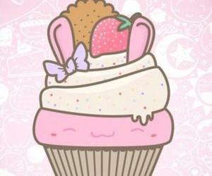 background, cake, and cupcake image