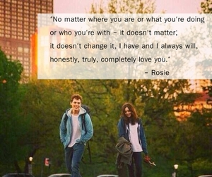 movie and love rosie image