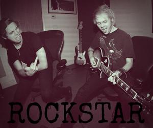 boys, grunge, and guitar image