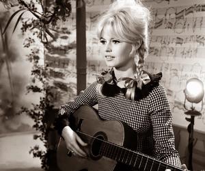 bb, BrigitteBardot, and guitar image