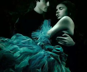 couple, fantasy, and kiss image
