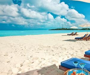 beach, vacation, and Island image