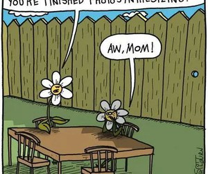 flowers, parenting, and science image