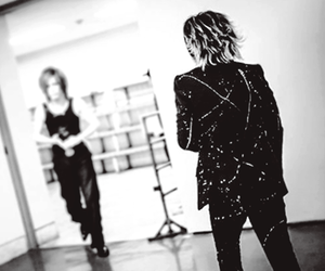 black and white, jrock, and the gazette image