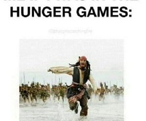 hunger games, funny, and lol image