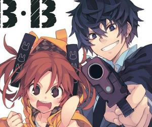 black bullet and anime image
