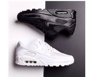 nike, white, and black image