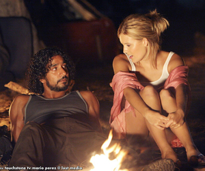 lost, shannon, and sayid image