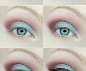 make up, makeup, and tutorial image