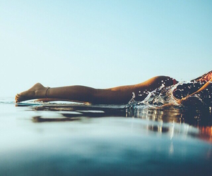 adventure, beach, and body image