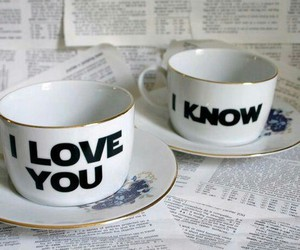love, cup, and I Love You image