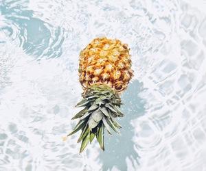 ananas, food, and pool image