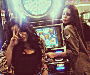 bff, casino, and drunk image