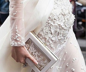 wedding, wedding dress, and style image