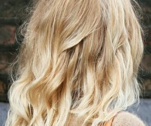 angel, blond, and hair image